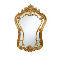 Basset Gold Hermosa Wall Mirror